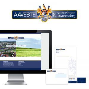 Grafisch ontwerp huisstijl logo website